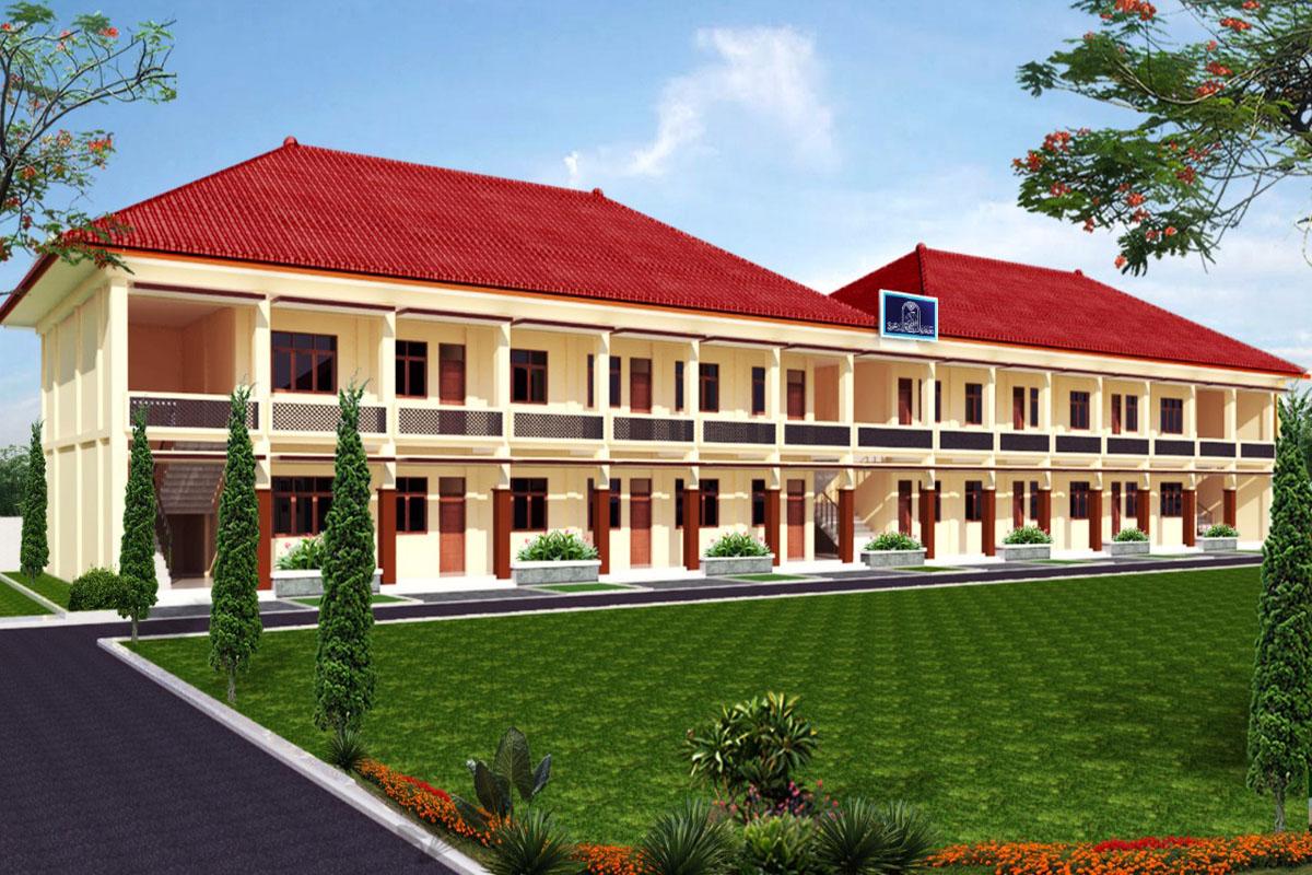 Gedung Asrama Mahasantri