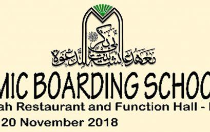 Mahad Aisyah ikut berpartisipasi pada acara Islamic Boarding School Fair