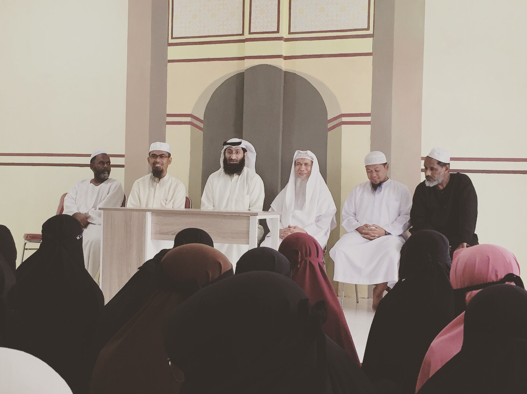 Kunjungan Syaikh Fawaz Misyari Al Kulaib ke Mahad Aisyah binti Abu bakar Li al-Dakwah
