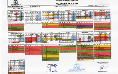 Kalender Akademik Mahad Aisyah 2020-2021