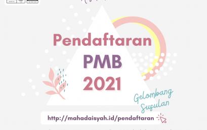 Kabar gembira! Mahad Aisyah binti Abu Bakar resmi membuka pendaftaran Gelombang Susulan PMB 2021