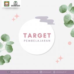 Target Pembelajaran di Mahad Aisyah binti Abu Bakar